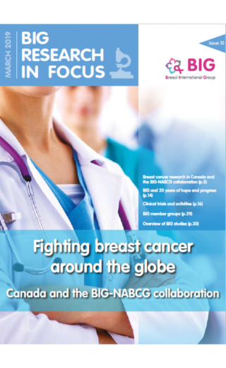 Fighting breast cancer around the globe - Canada & the BIG-NABCG collaboration