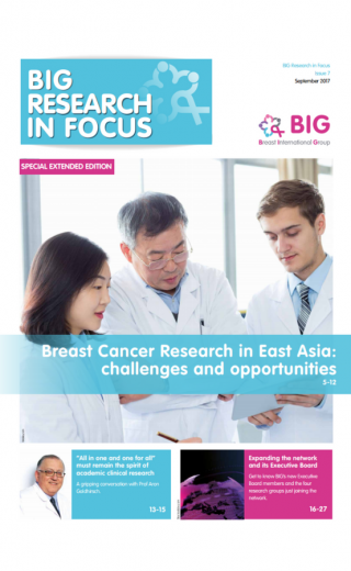 Breast cancer research in East Asia : challenges & opportunities