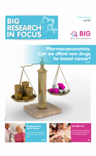 Pharmacoeconomics: Can we afford new drugs for breast cancer?