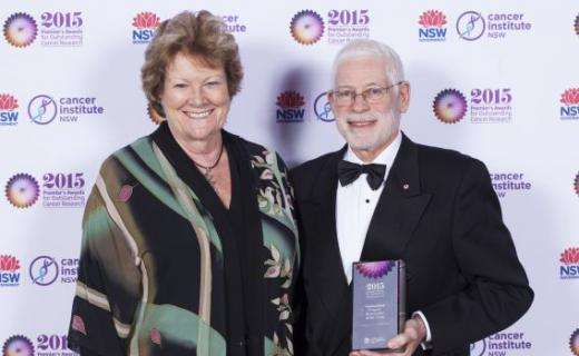 Professor John Forbes awarded for his precious contribution to breast cancer research
